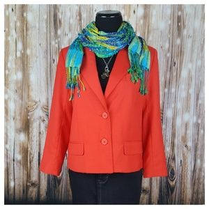 BB Dakota Naples Cropped Boxy Blazer Size S